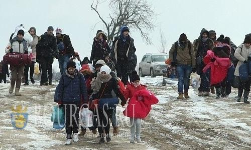 Сотрудники ОДМВР-Ямбол на Юго-Востоке Болгарии задержали группу нелегалов