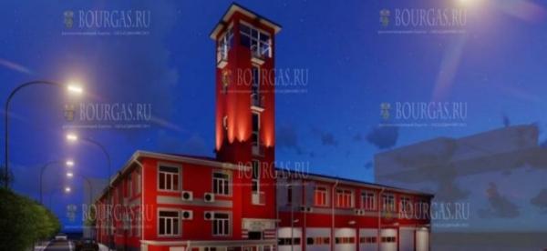 В Бургасе отремонтировали здание пожарной охраны