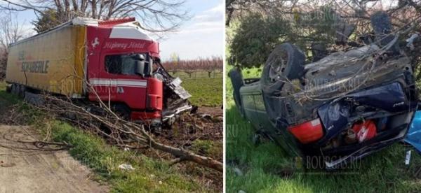 На автотрассе Айтос-Бургас случилось ДТП, в котором погибла женщина