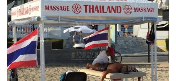 Экзотические массажистки — хит на пляжах Солнечного берега