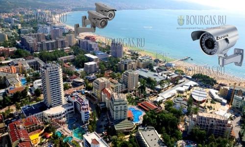 На Солнечном Берегу работает 350 камер наблюдения
