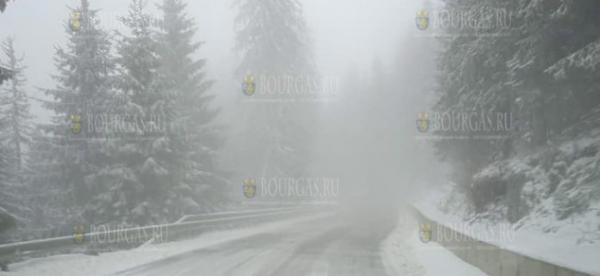В Пампорово идет снег…