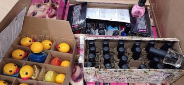 В Болгарии задержали почти 19 000 упаковок лака для ногтей