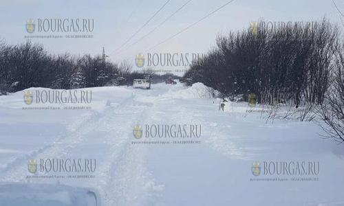 Первая жертва морозов в Болгарии