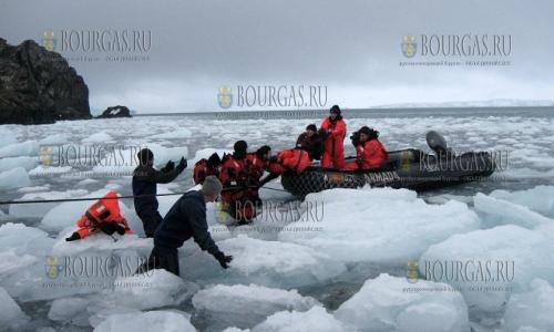 Болгарская экспедиция в Антарктиду отложена