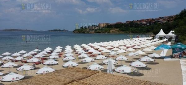 Пляжи Солнечного берега ждут своих туристов