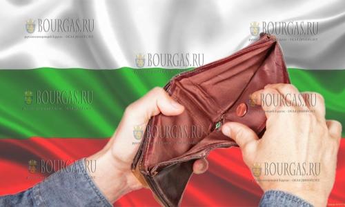Черта бедности в Болгарии сегодня 451,00 левов в месяц