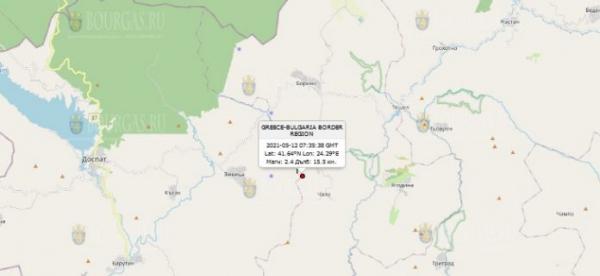 12 мая 2021 года на Юге Болгарии произошло сразу ТРИ землетрясения