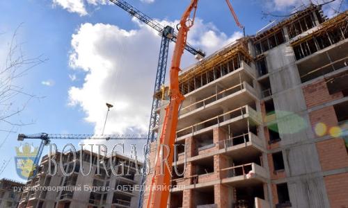 В Болгарии немного «подросли» объемы строительства