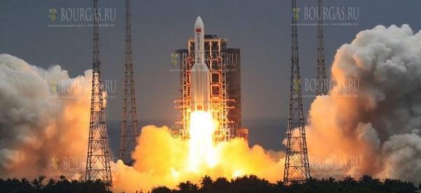 Китайская ракета упала в Индийском океане