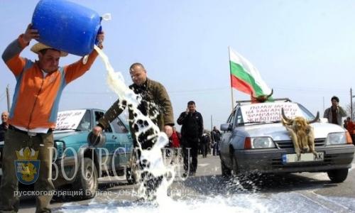 В Болгарии намечаются «молочные» протесты