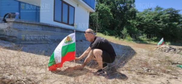 Отдыхающие в Бургасе пришли на пляж «Росенец» возле Догансарая