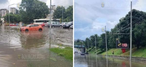 Сегодня на Севере Болгарии прошли сильные ливни