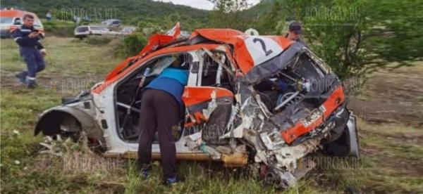 Тяжелая авария остановила в Болгарии «Монбат рали Сливен»