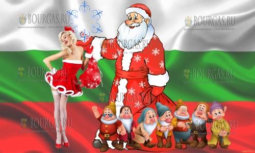 Дед Мороза прибыл в аэропорт Софии