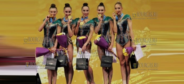Болгарские художницы смогли добыть золото Чемпионата мира