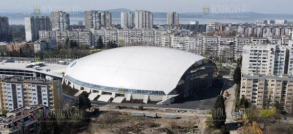 Арена Бургас принимет волейбольные матчи ЕВРО-2023