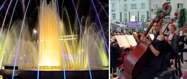 Тематический тур и концерт у фонтана ко Дню освобождения Варны