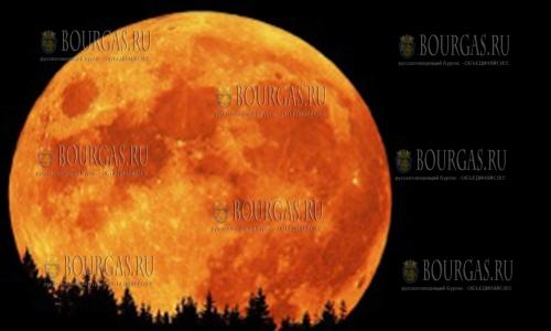 Полное затмение Луны можно будет наблюдать на территории Болгарии