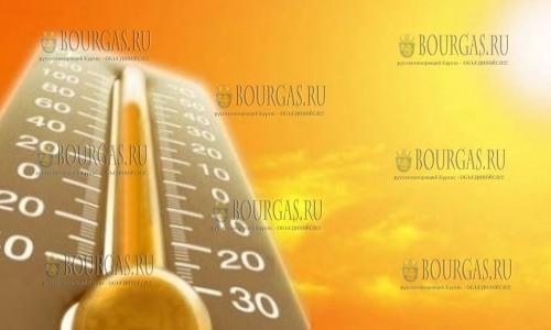 В центре Болгарии —  в Тырговиште, сегодня зафиксирован температурный рекорд