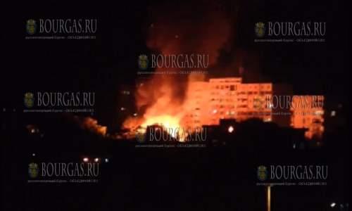 В Созополе горела гостиница