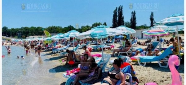 Пляжи в болгарском Причерноморье заполнены