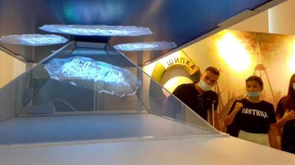 Военно-морской музей представляет: Цифровую карту наших подводных сокровищ и 3D голограммы затонувших кораблей
