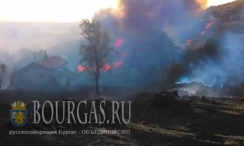 В 8-ти областях Болгарии Красный код пожароопасности