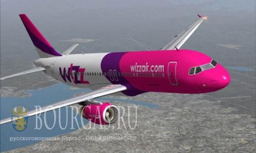 Wizz Air запускает 8 новых рейсов из Варны