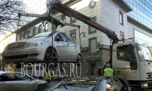 Жители Софии все чаще «забывают» о своих авто на штрафплощадках