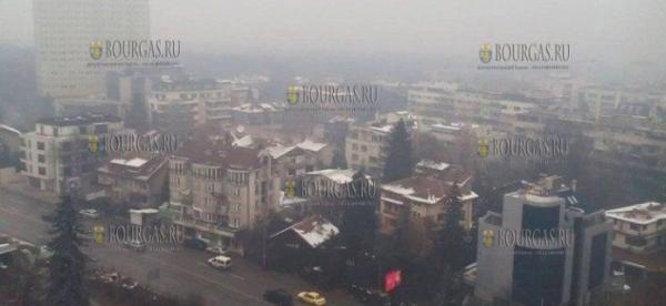 В городах Болгарии снова проблемы с чистым воздухом