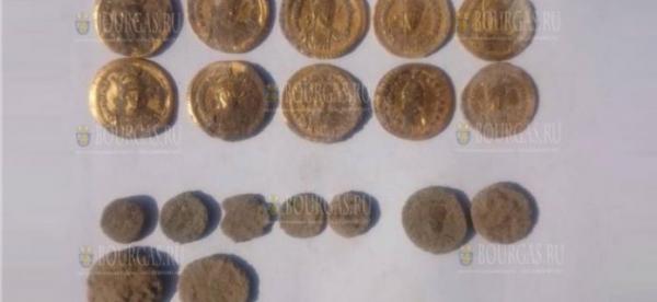 В Болгарии, в районе селения Девни, нашли клад монет