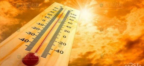 В августе в Болгарии будет очень жарко