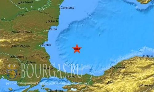 Землетрясение в Черном море