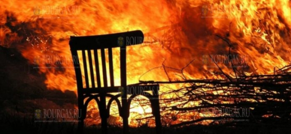 Пожар перекрыл дорогу София — Калотина