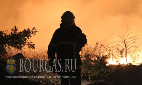 Пожилая женщина погибла на пожаре в Бургасской области