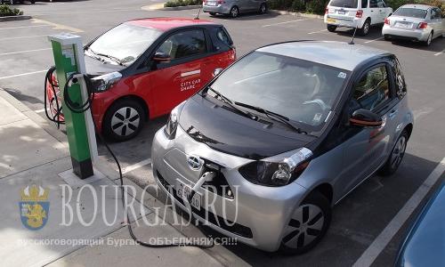 В Болгарии продолжают стоить АЗС для электромобилей