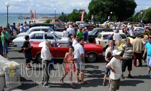 Стартует ХI-й парад ретро автомобилей в Бургасе
